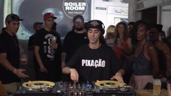 DJ Nuts Boiler Room Sao Paulo
