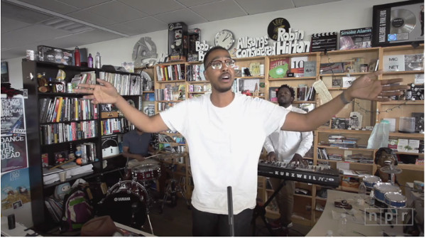 Oddisee Tiny Desk Concert