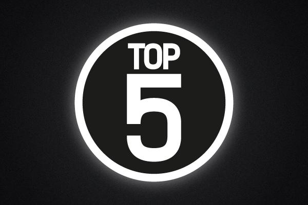 Top 5 2015 - Bonus Edition