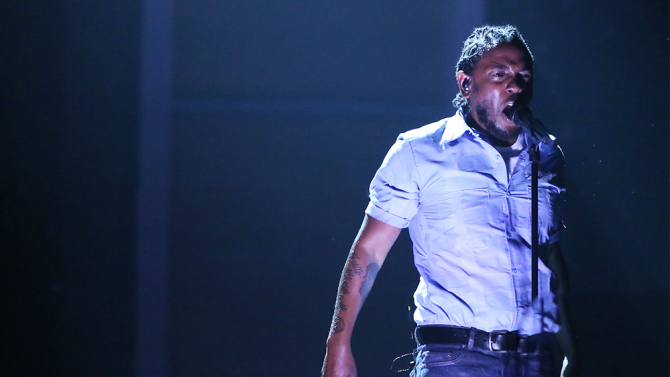 Kendrick Lamar - Live At The Grammys 2016