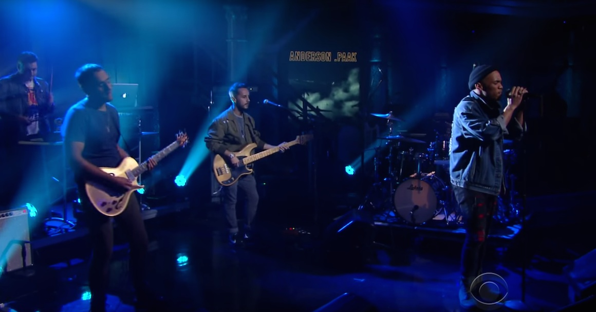 Anderson .Paak & The Free Nationals - Live At The Late Show