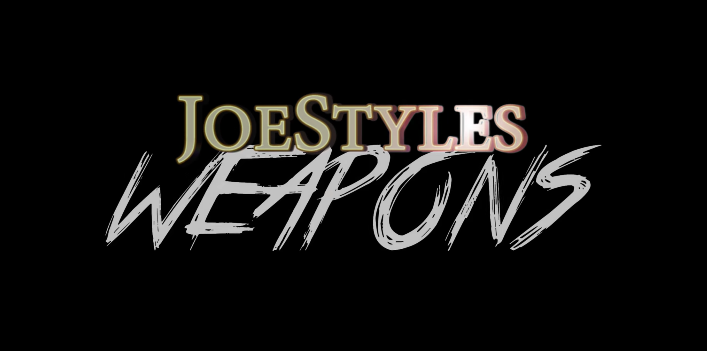 Weaponz - Joe Styles feat Laid Law